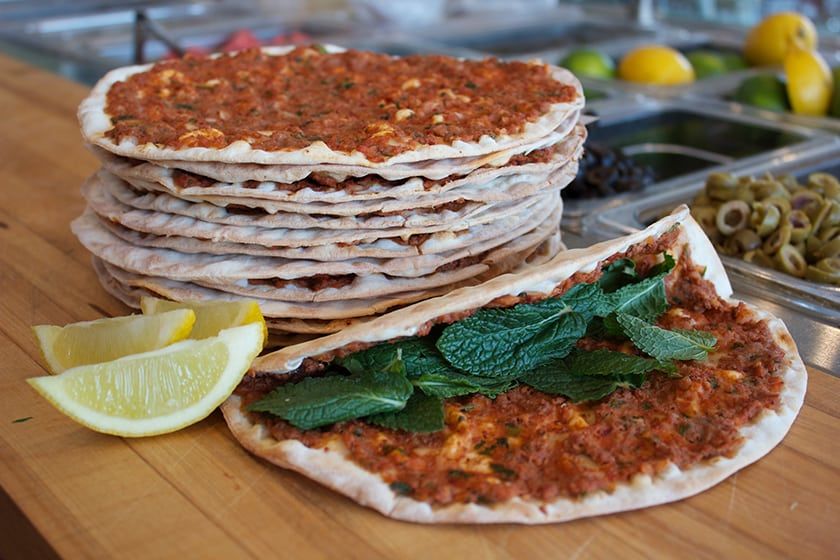Lehmejun (Armenian Pizza)